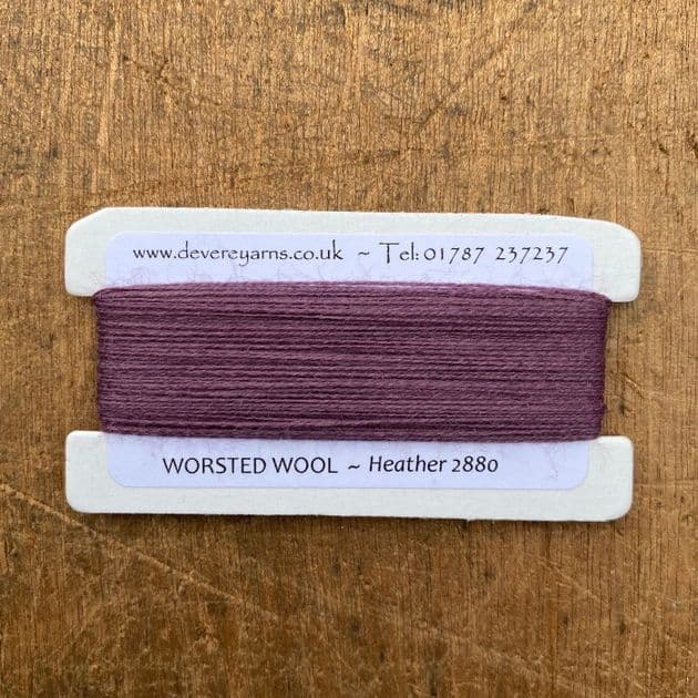 2880 Heather - Worsted Wool - Embroidery Thread