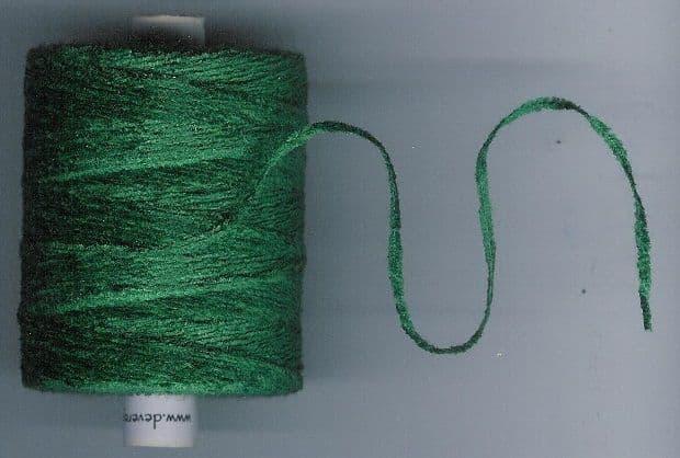 32.Bottle Green - Cotton Chenille