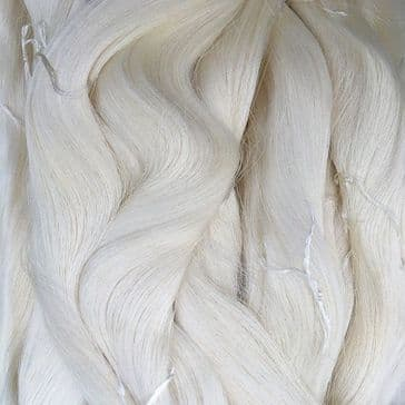 40/44 Pure Silk Organzine - Natural - 68g Cone/Skein