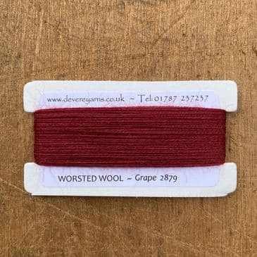 Grape 2879 - Worsted Wool - Embroidery Thread