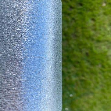 Lurex - Silver - 1000m cop  0.05mm
