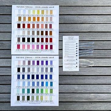 Pure Silk Shade Card