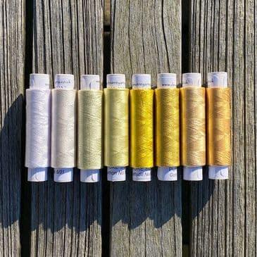 Silk shade card - Row 1