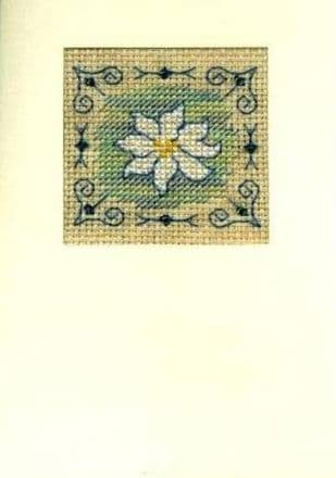 Blue Daisy Card CA150201