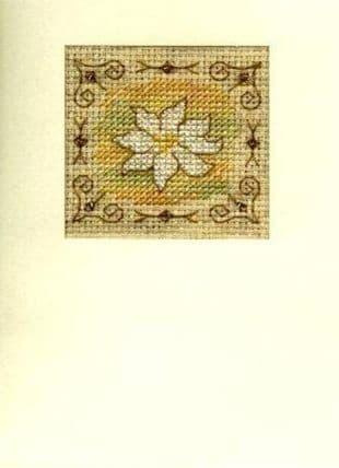 Brown Daisy Card CA150202