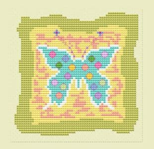 Butterfly Patch Card - CA150238