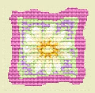 Daisy Patch Card - CA150236