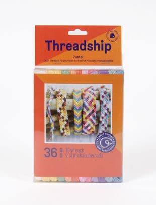 DMC Threadship 36 Non-Divisible Skein Pastel Thread Pack