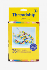 DMC Threadship 36 Skein 6 Stranded Pastel Thread Pack
