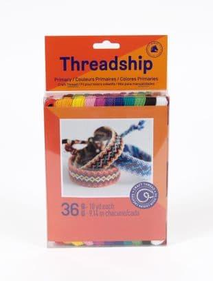 DMC Threadship 36 Skein Non-Divisible Primary Thread Pack