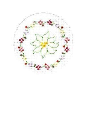Flower Chain Card CA150218