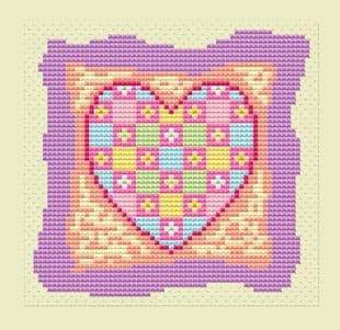 Heart Patch Card - CA150237