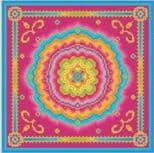 Indian Rosette Cushion C150216