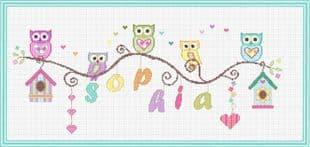 Owl Nameplate P150280