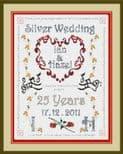 Silver Wedding Anniversary - P150257