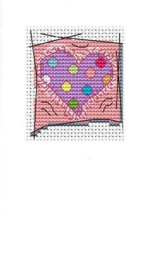 Spotty Heart Card