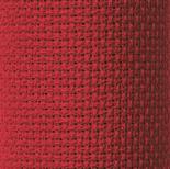 Zweigart 14 Count Scarlet Red Aida 25 x 25 cm