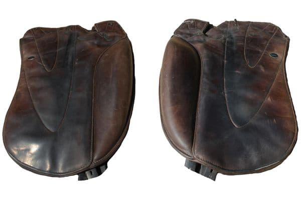 Flap 10 Brown dressage standard fixed block flaps