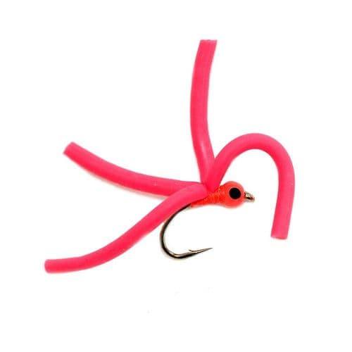 4 Leg Squirmy Red - Fario
