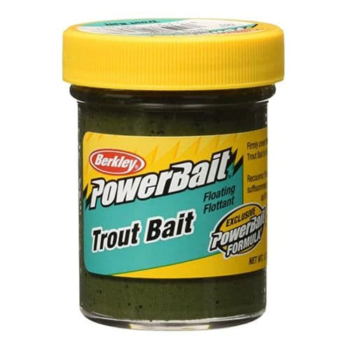 Berkley Green Pumpkin Powerbait