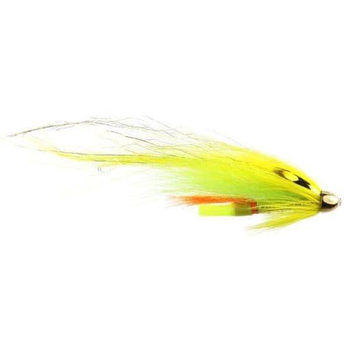 Conehead Salmon Fly - Banana Flamethrower