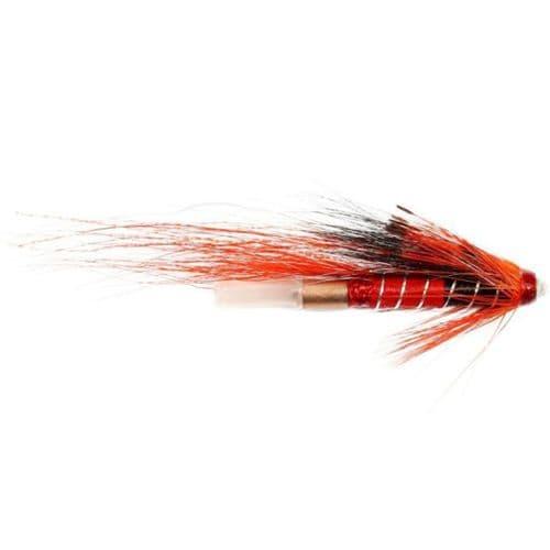 Copper Tube Salmon Fly - Ally Shrimp