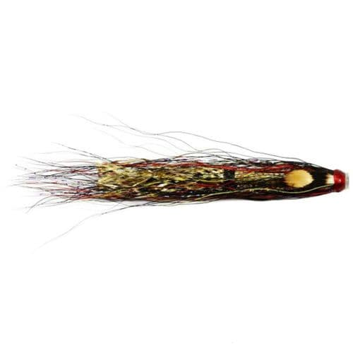 Copper Tube Salmon Fly - Gold Willie Gunn
