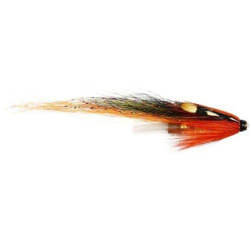 Copper Tube Salmon Fly - Sunburst Cascade