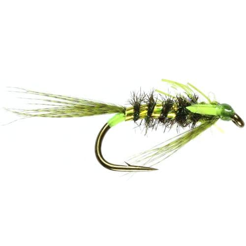 DIAWL BACH GREEN UNWEIGHTED NYMPH - CALEDONIA