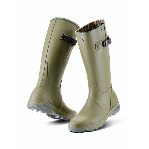 Grubs Highline Wellies  Green