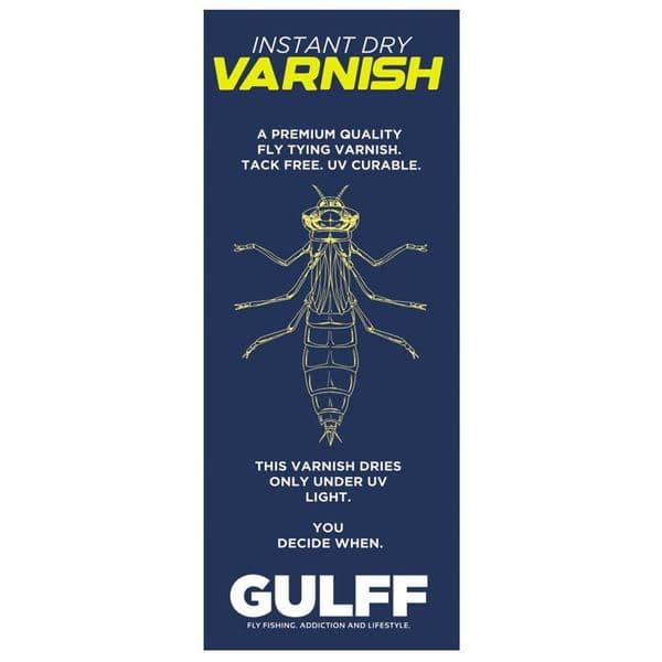 Gulff Varnish Instant Dry UV Curable