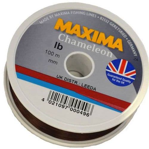 Maxima Chameleon Monofilament 100m