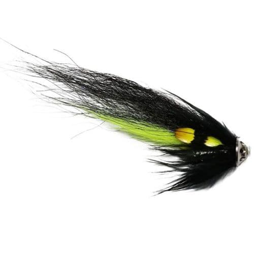 P.U.S Disc Salmon Tube Fly - Silver Stoat
