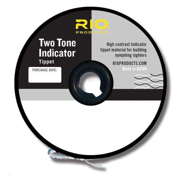 Rio Two Tone Indicator Tippet Black/White
