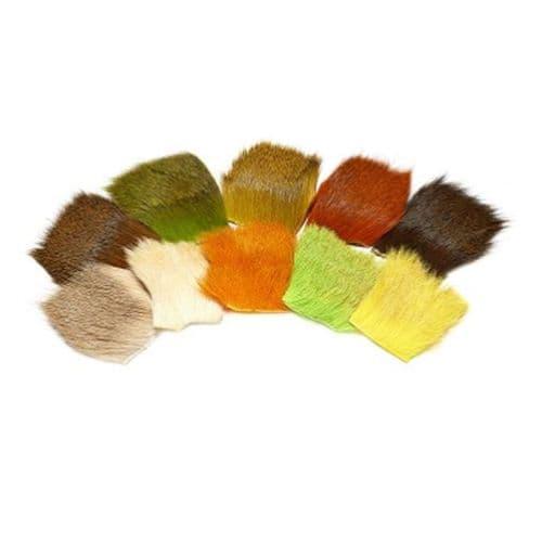Veniard Deer Hair Natural & Dyed