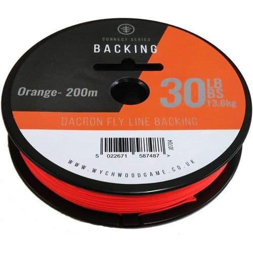 Wychwood Dacron Fly Line Backing - 30lb 200m Orange
