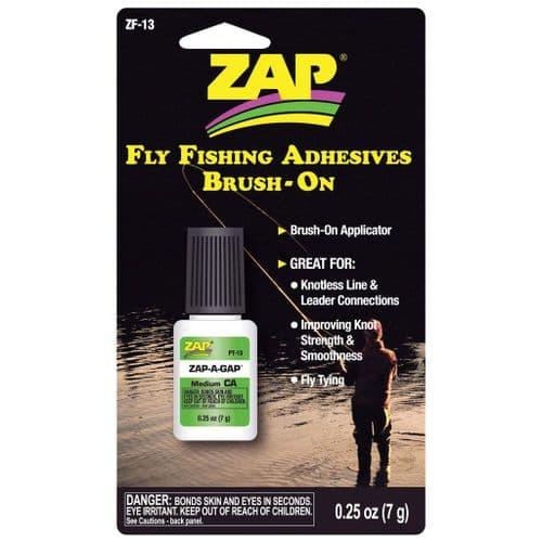 Zap A Gap Fishing Glue Brush On