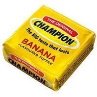 Champion Banana Flavoured Toffee