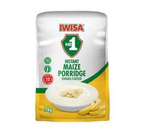 Iwisa Instant Breakfast Porridge - Banana