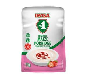 Iwisa Instant Breakfast Porridge - Strawberry