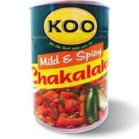 Koo Chakalaka Mild & Spicy - 410g