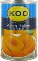Koo Peach Halves - 410g