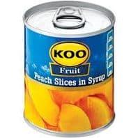Koo Peach Slices - 410g
