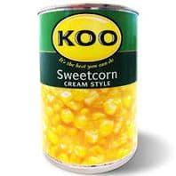 Koo Sweetcorn Cream Style - 415g