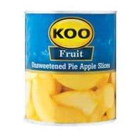 Koo Unsweetened Pie Apple Slices