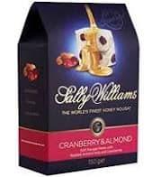Sally Williams Cranberry & Almond Nougat - 150g