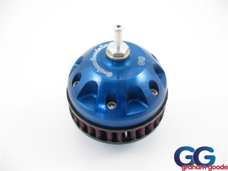 Impreza Dump Valve Double Piston GGR CNC Machined Blue GGS798BL