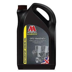 10w60 CFS Millers Nanodrive Technology NT + 5L Engine Oil Motorsport & Competition