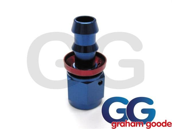 536-0106 Push Fit Staight -6JIC Hose Fitting