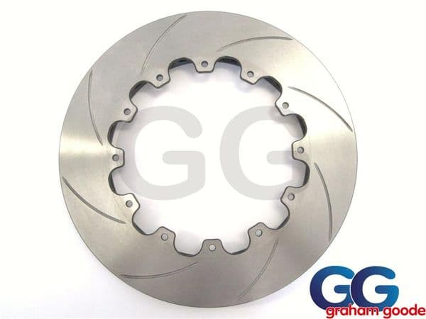 AP Racing Right Hand 330mm x 28mm Big Brake Disc Replacement Curved Grooved CP5000-210CG8